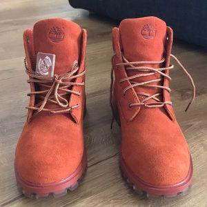 Dark Rust- Timberland waterproof boots